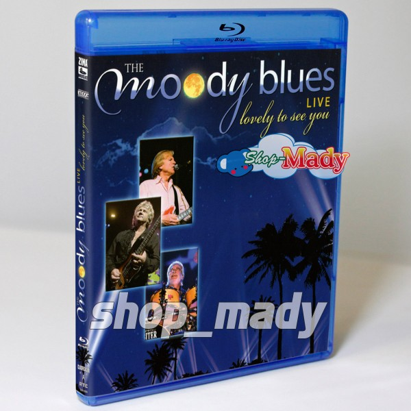 The Moody Blues Live Lovely to See You Blu-ray