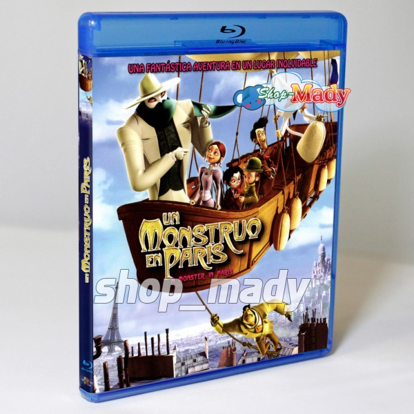 A Monster in Paris Blu-ray