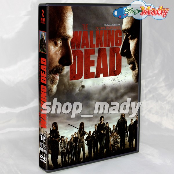 The Walking Dead Octava Temporada DVD