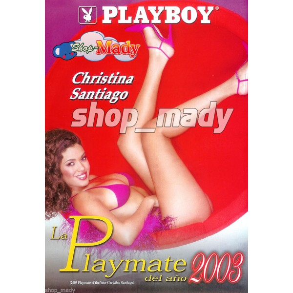 2003 Playmate of the Year Christina Santiago DVD