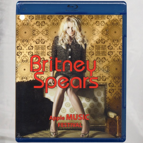 Britney Spears Apple Music Festival Blu-ray Región A