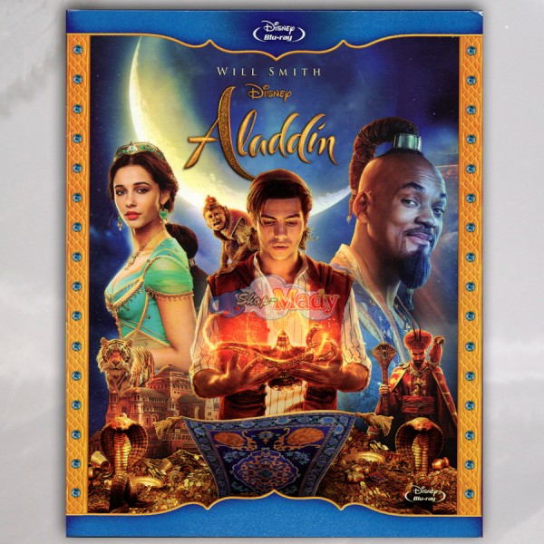 Disney Aladdin Con Will Smith Blu-ray Región A