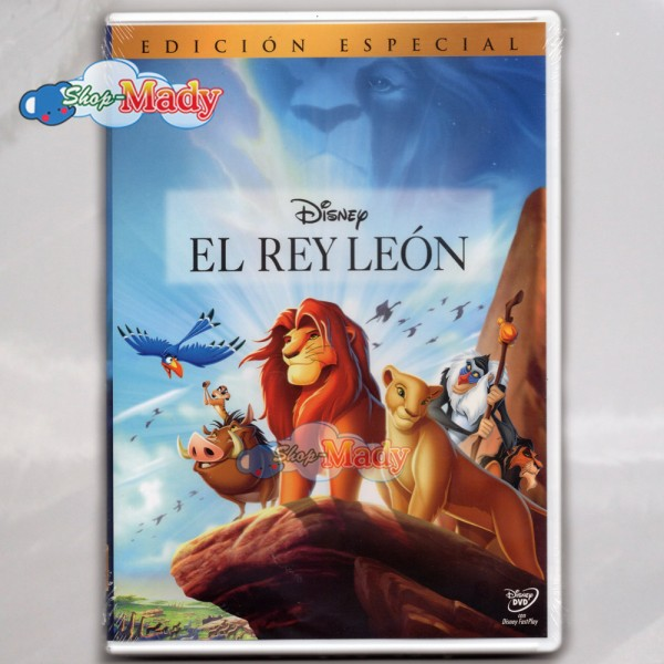 Disney El Rey Leon - The Lion King - DVD Región 1 y 4