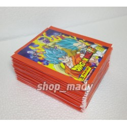 250 Estampas para el Album Dragon Ball Super (50 Sobres)
