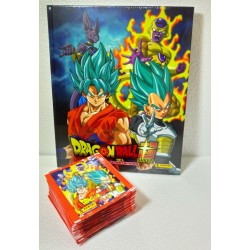 Album Dragon Ball Super Pasta Dura + 250 Estampas (50 sobres)