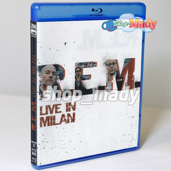 R.E.M. Live in Milan (2008) Blu-ray