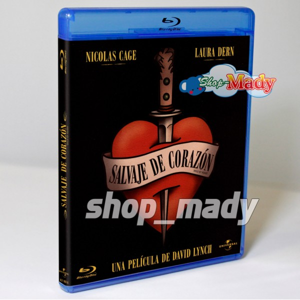 Salvaje de Corazon Bluray