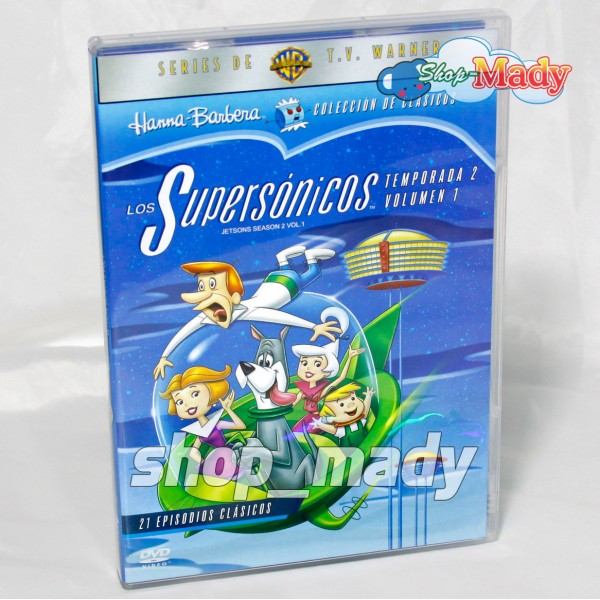 Los Supersonicos Temporada 2 Volumen 1