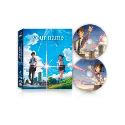 Your Name Blu-ray + DVD Edicion de Coleccion