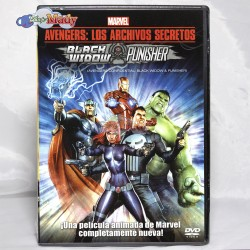 Avengers Los Archivos Secretos Black Widow & Punisher Dvd