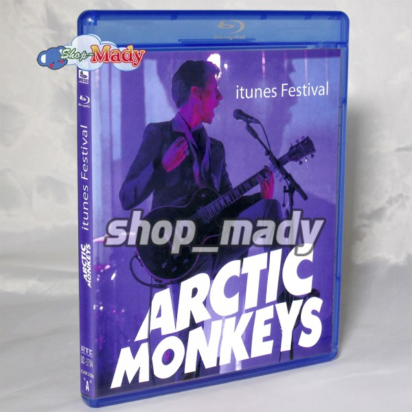 Arctic Monkeys Itunes Festival Blu-Ray