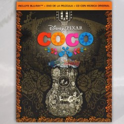 Coco Blu-ray + DVD + CD con Musica Original