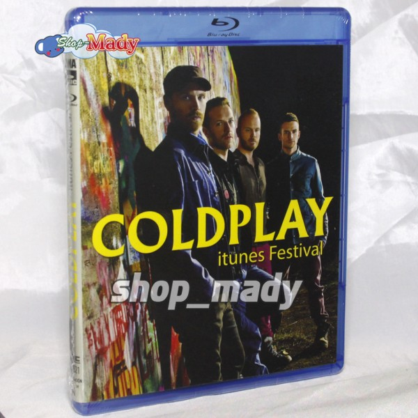 COLDPLAY Itunes Festival Live in The Moody Theater - Blu-ray