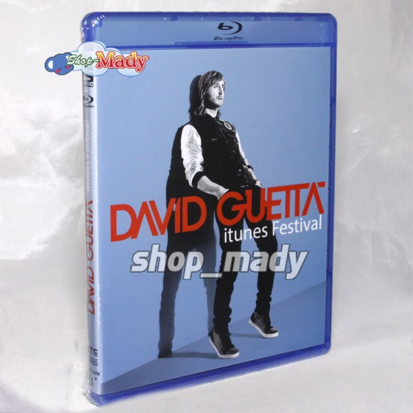 David Guetta itunes Festival Blu-ray