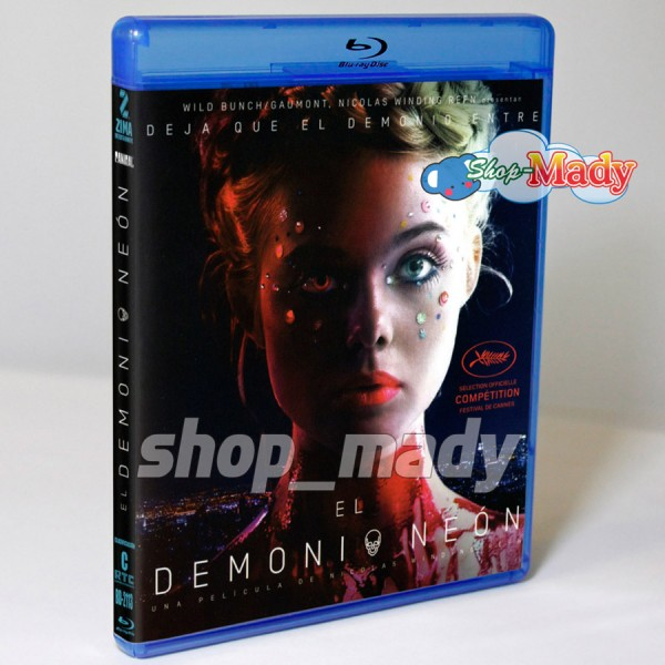 El Demonio Neon - The Neon Demon Blu-ray