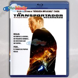 El Transportador Recargado / The Transporter Refueled Bluray