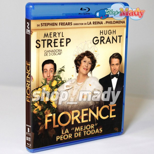 FLORENCE - La Mejor Peor de Todas - Florence Foster Jenkins - Blu-ray