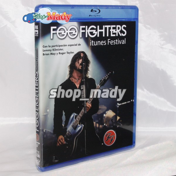 Foo Fighters Itunes Festival Blu-ray