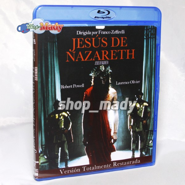 Jesus of Nazareth Version Restaurada Blu-Ray