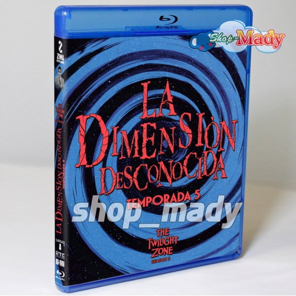 La Dimension Desconocida La Quinta Temporada Blu-ray