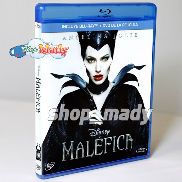 Malefica / Maleficent Blu-ray + DVD