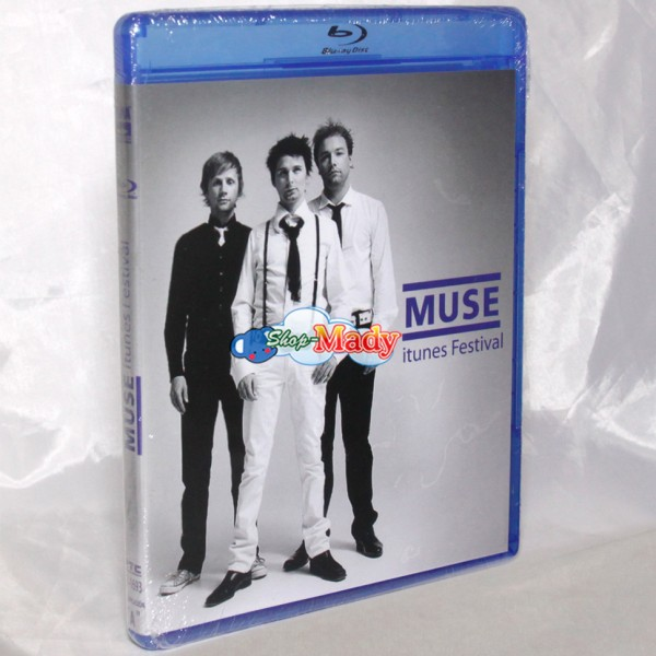 MUSE itunes Festival Blu-ray