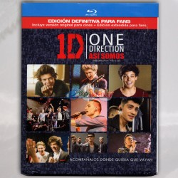 One Direction Así Somos (one Direction: This Is Us) Blu-ray