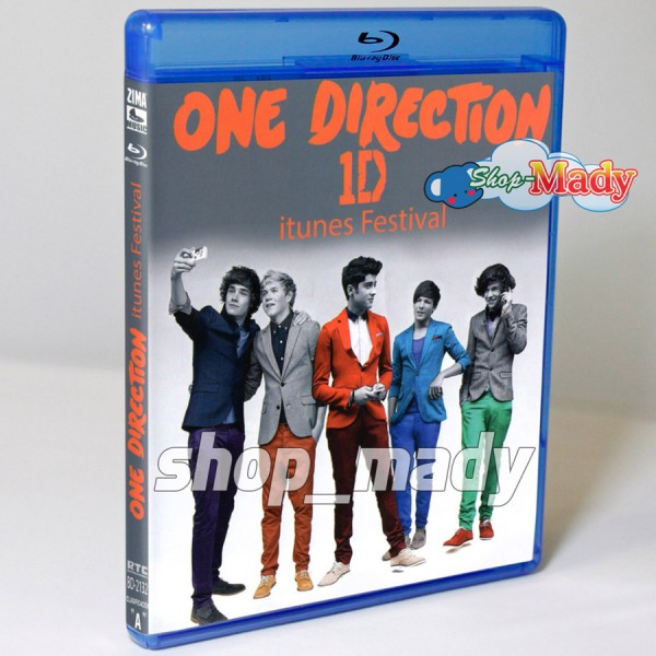 One Direction 1D itunes Festival Blu-ray