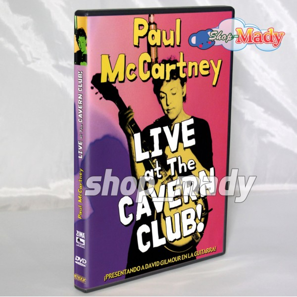 Paul Mccartney Live At The Cavern Club! DVD