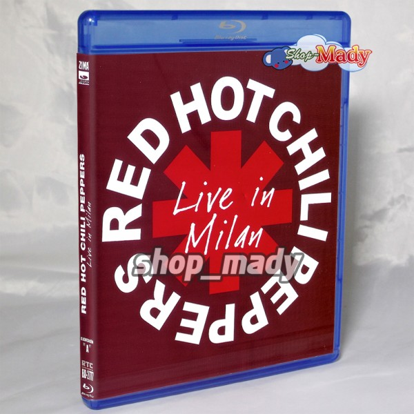Red Hot Chilipeppers Live in Milan Blu-Ray