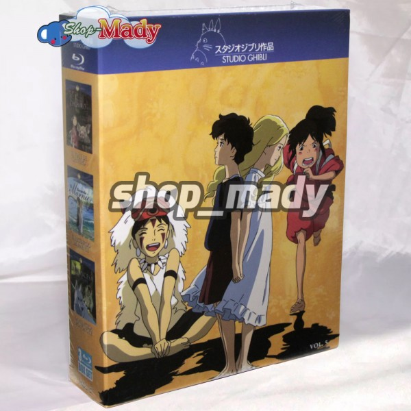 Paq. Box Set Studio Ghibli Vol. 5 en Blu-ray