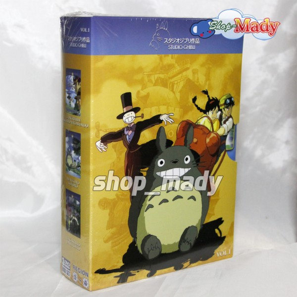 Paq. Box Set Studio Ghibli Vol. 1 en DVD