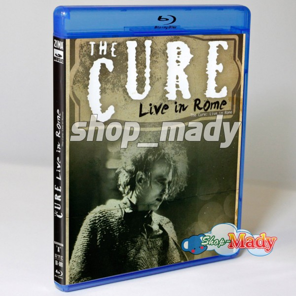The Cure Live in Roma Blu-ray
