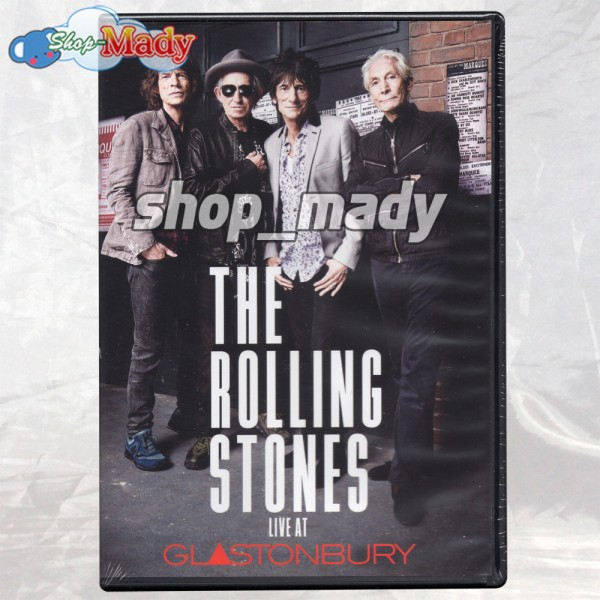 The Rolling Stones Live at Glastonbury - DVD Región 1 y 4
