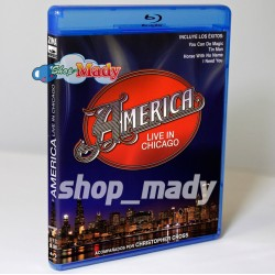 AMERICA Live in Chicago Blu-ray